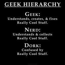 geek hierarchy
