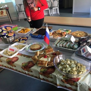 International Food Day Party