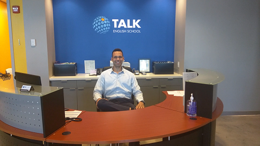Our newest TALK member, TALK Miami Beach Center Director, Liam Anderson.