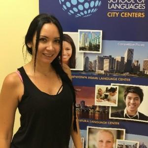 Students talk TALK Miami teachers