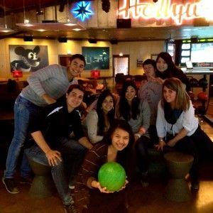 TALK Boston - Having fun, Bowling Day!