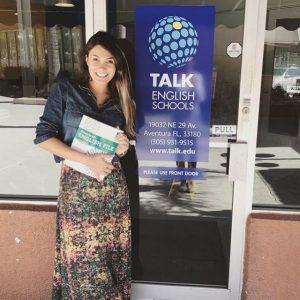 TALK Aventura entrance