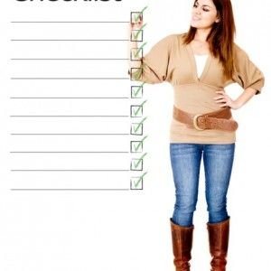 International student checklist