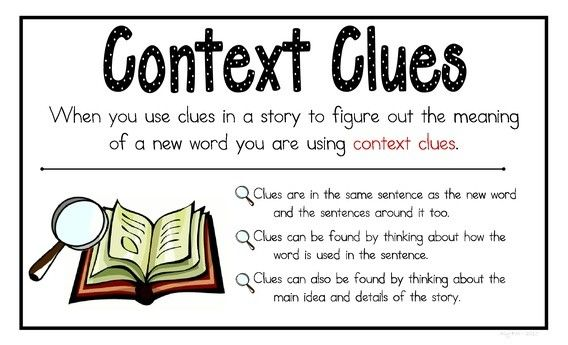 Word context clues