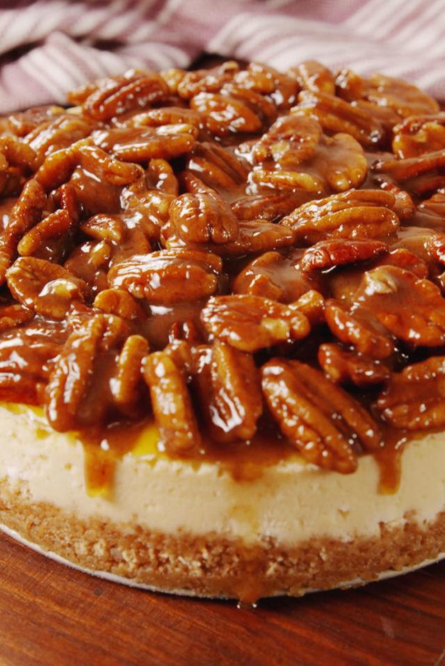 thanksgiving pecan pie dessert