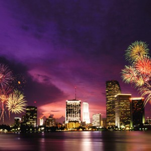 Memorial Day Fireworks Miami