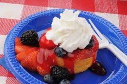 memorial day dessert